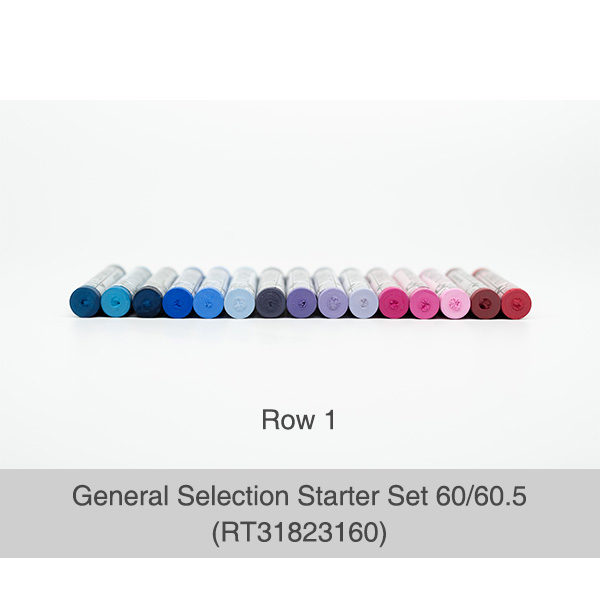 Rembrandt-Soft-Pastels-General-Selection-Starter-Set-60&60,5-Pastels-Row-1