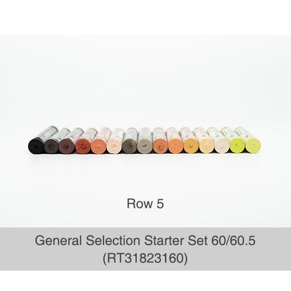 Rembrandt-Soft-Pastels-General-Selection-Starter-Set-60&60,5-Pastels-Row-5