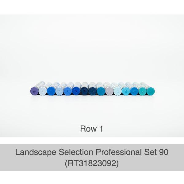 Rembrandt-Soft-Pastels-Landscape-Selection-Professional-90-Set-Box-Row-1-Pastel-Colours