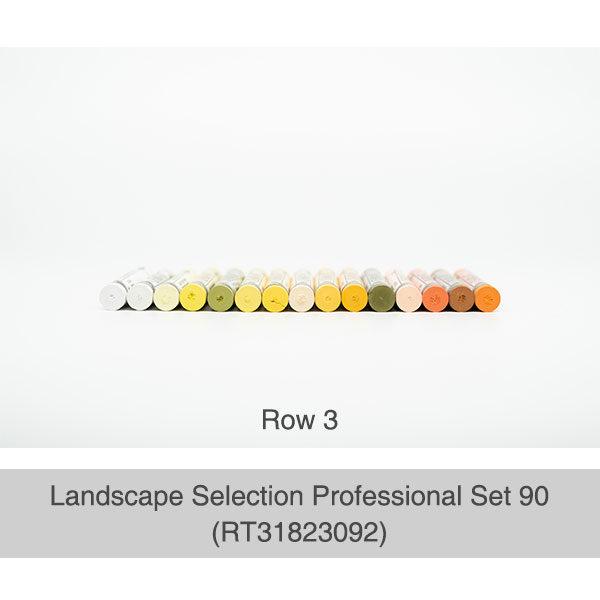 Rembrandt-Soft-Pastels-Landscape-Selection-Professional-90-Set-Box-Row-3-Pastel-Colours
