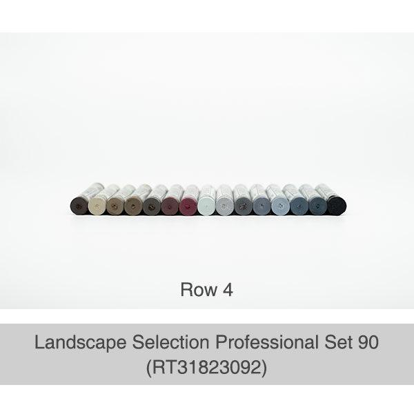 Rembrandt-Soft-Pastels-Landscape-Selection-Professional-90-Set-Box-Row-4-Pastel-Colours