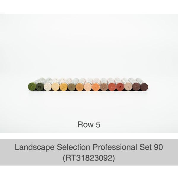 Rembrandt-Soft-Pastels-Landscape-Selection-Professional-90-Set-Box-Row-5-Pastel-Colours