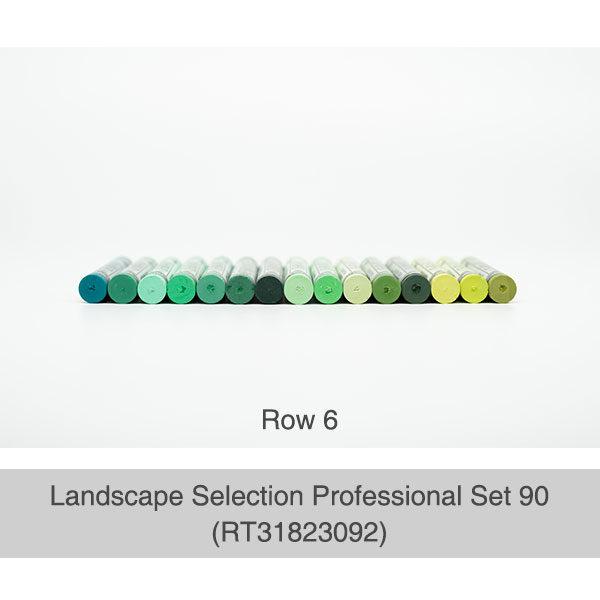 Rembrandt-Soft-Pastels-Landscape-Selection-Professional-90-Set-Box-Row-6-Pastel-Colours