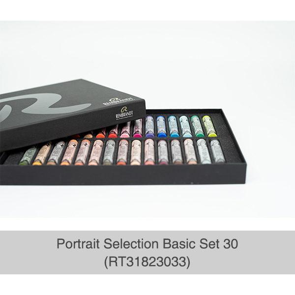 Rembrandt-Soft-Pastels-Portrait-Selection-30-Set-open-box-with-pastel-rows