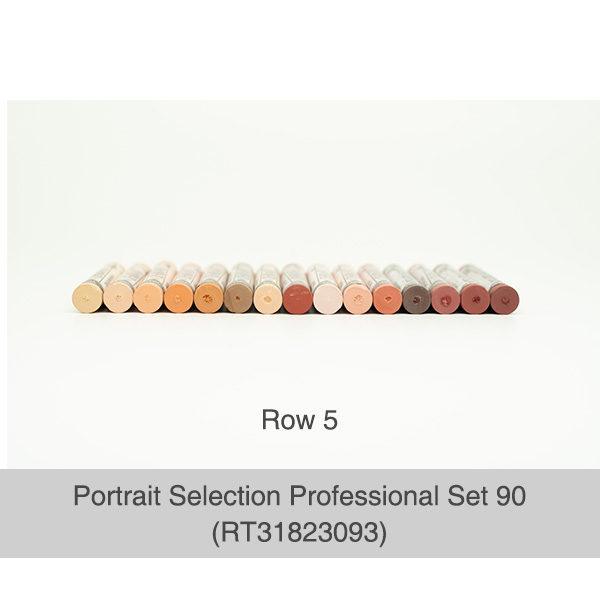Rembrandt-Soft-Pastels-Portrait-Selection-Professional-90-Set-Pastels-Row-5-Colours