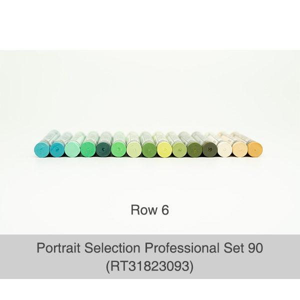 Rembrandt-Soft-Pastels-Portrait-Selection-Professional-90-Set-Pastels-Row-6-Colours