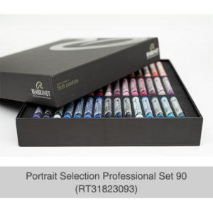 Rembrandt-Soft-Pastels-Portrait-Selection-Professional-90-Set-open-box-with-pastels
