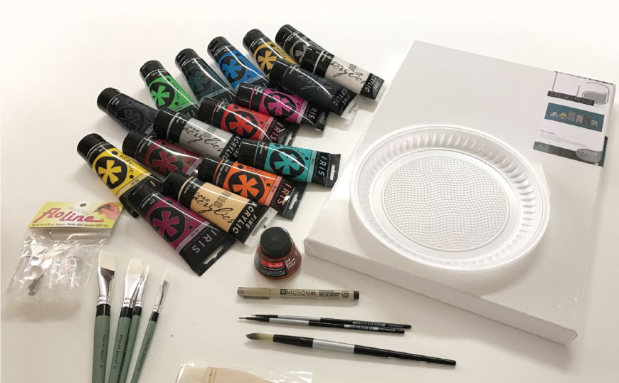 Testing-the-tools-of-the-trade-acrylic-paints-and-inks-Art-Materials