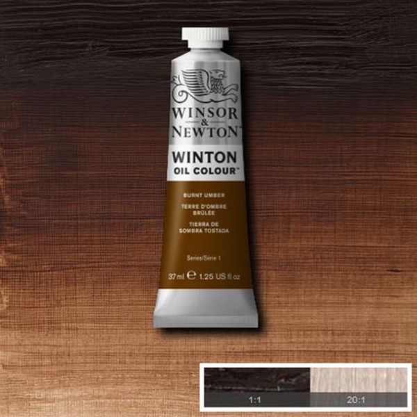 WINTON-OIL-COLOUR-BURNT-UMBER-37ml