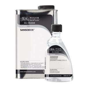 Winsor-and-Newton-Sansodor-Low-Odour-Solvent-bottles