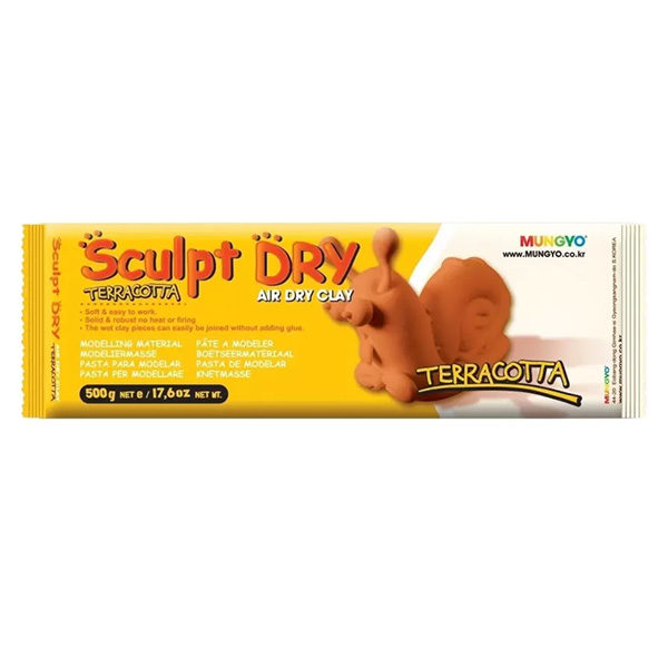 sculpt-dry-air-dry-clay-terracotta-colour-mungyo-500g