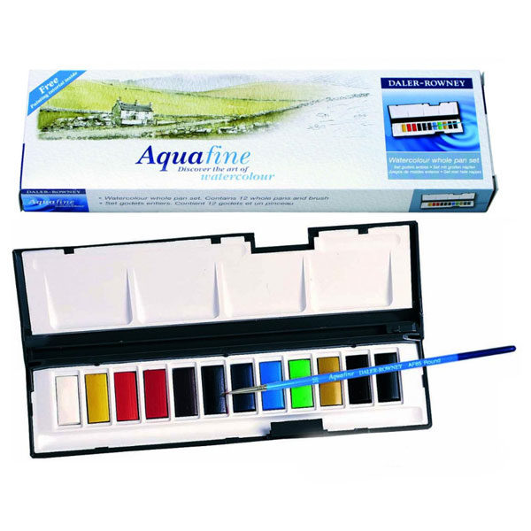 Aquafine-Watercolour-Whole-Pan-Set-Daler-Rowney