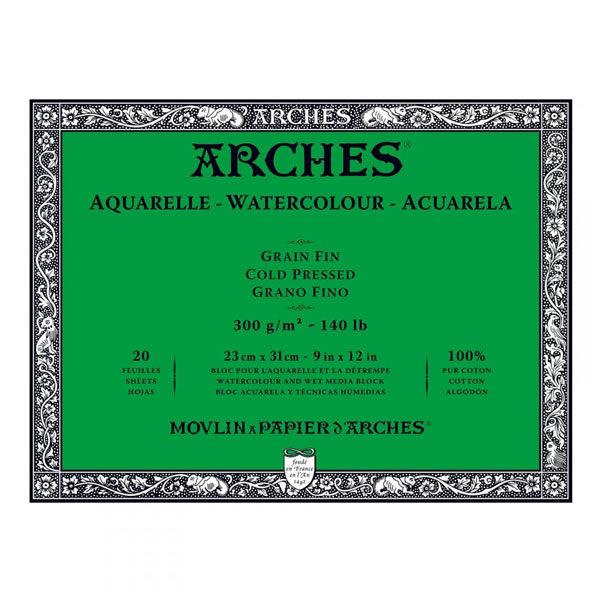 Aquarelle-Watercolour-Blocks-ARCHES-Cold-Pressed