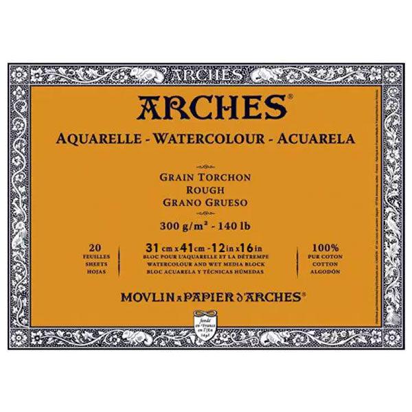 Aquarelle-Watercolour-Blocks-ARCHES-Rough