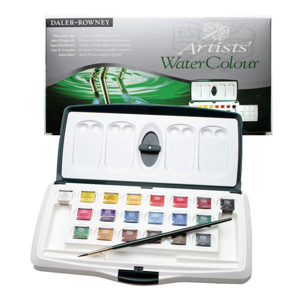 Artists-Watercolour-Box-Daler-Rowney