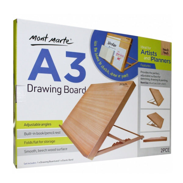 Drawing-Board-A3-with-Elastic-Band-Mont-Marte-in-box