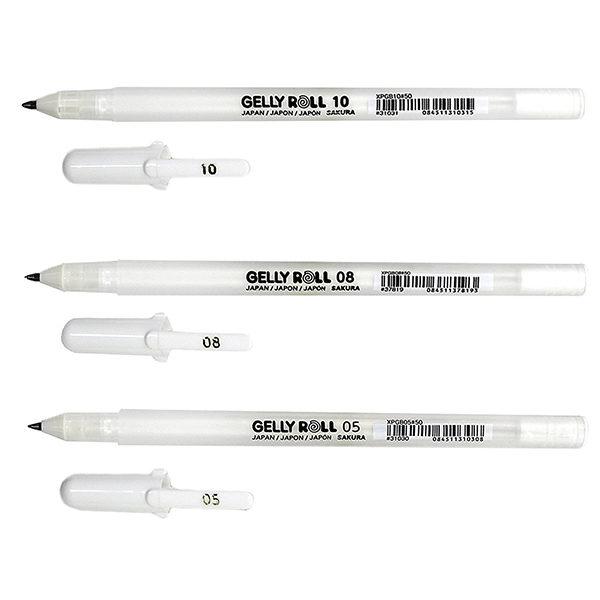 Gelly-Roll-3-Pen-Set-White-Fine-Medium-Bold-Sakura-Loose