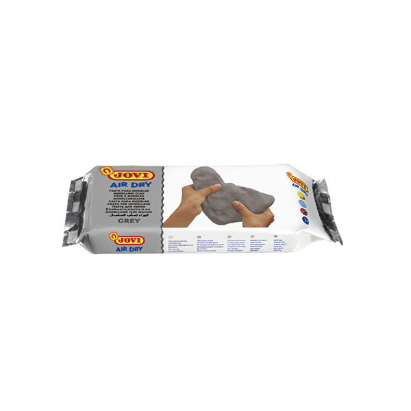 Modelling-Clay-JOVI-Air-Dry-500g-Grey