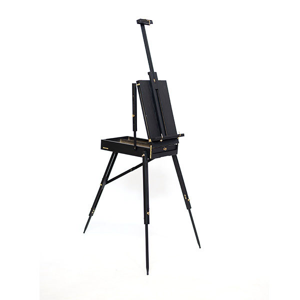 Mont-Marte-Black-French-Box-Easel-folded-open-side-view