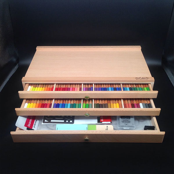 Mont-Marte-Pencil-Pastel-Box-3-Drawers-filled-with-pencils-&-accessories-1