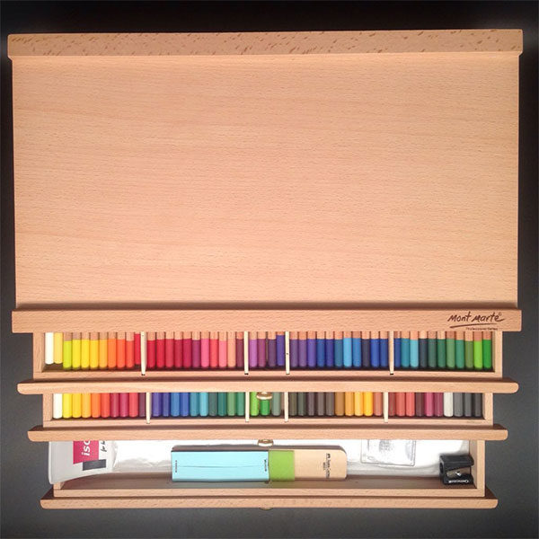 Mont-Marte-Pencil-Pastel-Box-3-Drawers-filled-with-pencils-&-accessories-2