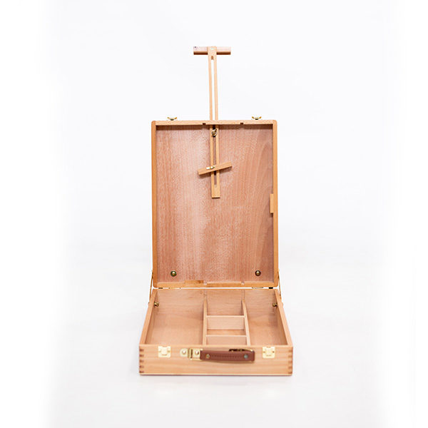 Mont-Marte-Tabletop-Beech-Box-Easel-Medium-Opened-Up-Front-View