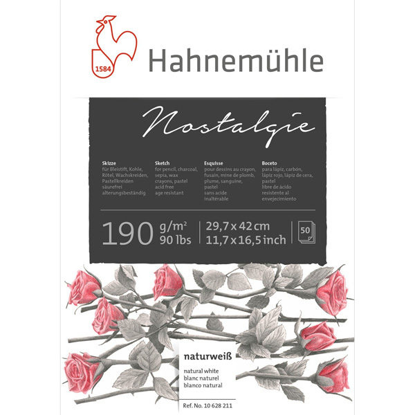 Nostalgie-Sketch-Pad-14,8-x-21cm-Hahnemuhle