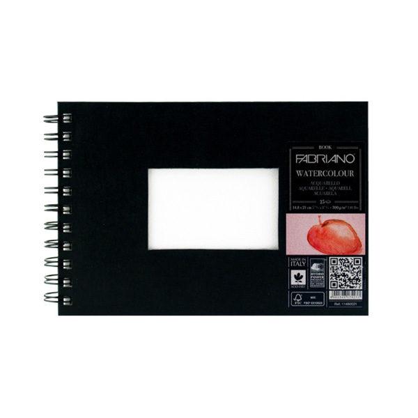 Watercolour-300gsm-Book-Fabriano