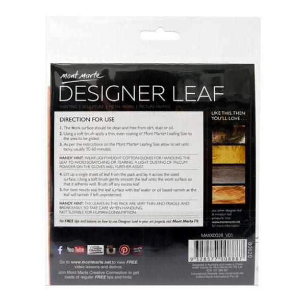 Gold-River-Back-Designer-Leaf-14cm-8-sheets-Mont-Marte