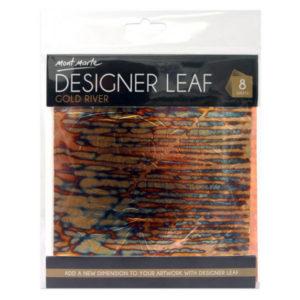 Gold-River-Front-Designer-Leaf-14cm-8-sheets-Mont-Marte