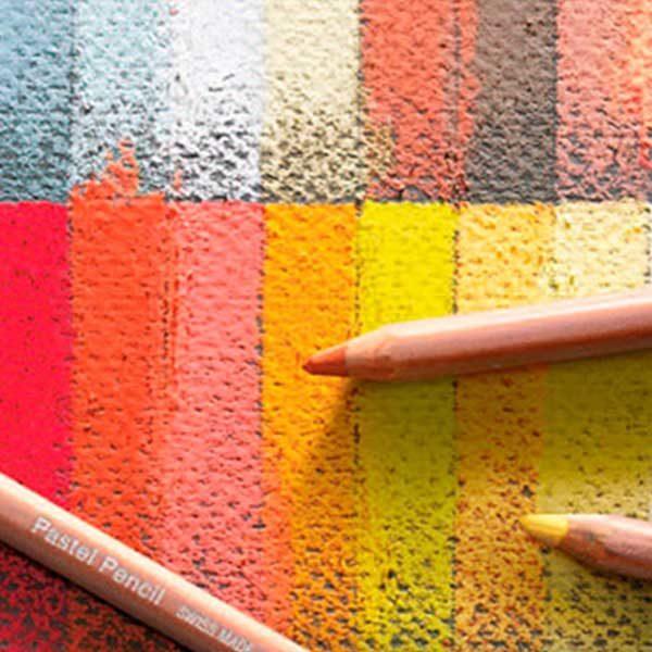 Pastel-Pencils-Loose-Samples-Caran-DAche