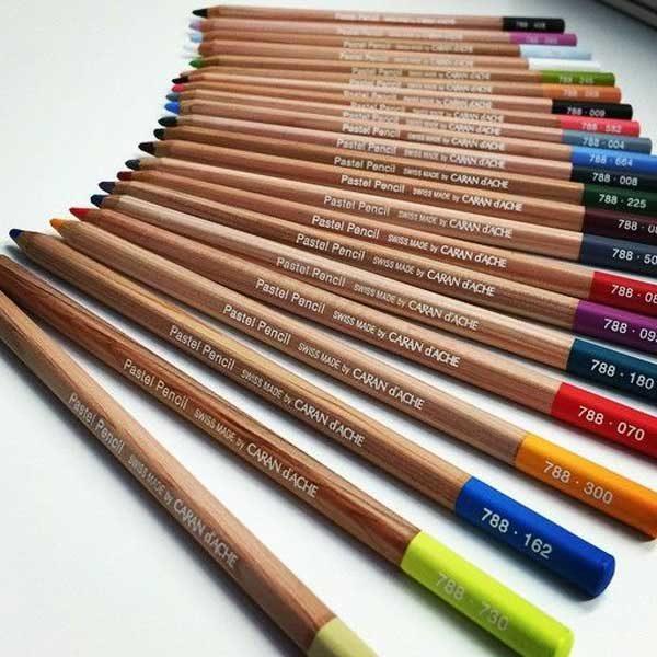 Pastel-Pencils-Loose-Spread-Caran-DAche