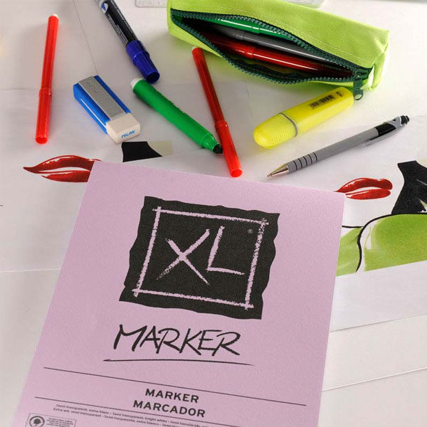XL-Marker-A4-Pad-Canson-Sample-1