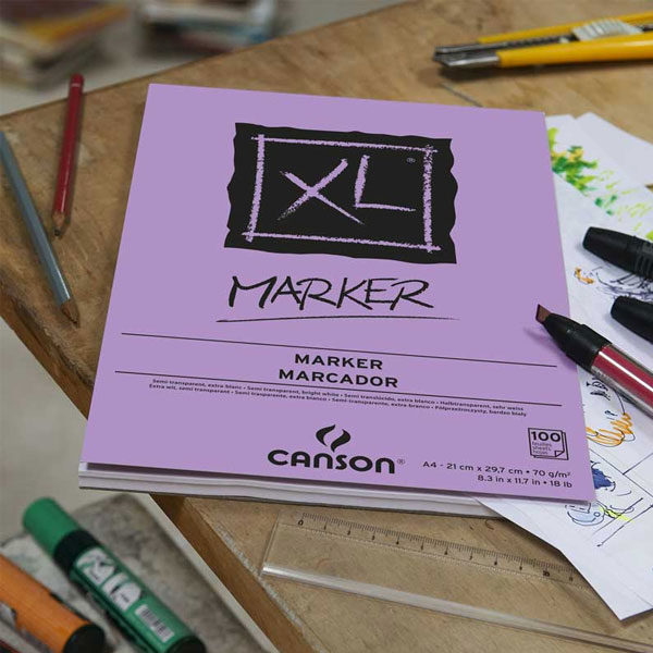 XL-Marker-A4-Pad-Canson-Sample