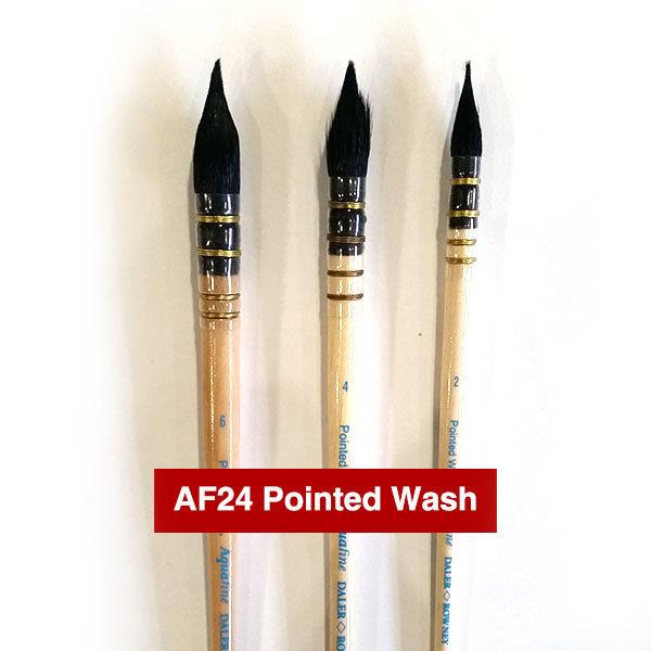 AF24-Pointed-Wash-Aquafine-Watercolour-Brushes-Daler-Rowney