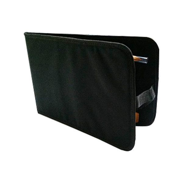 Black-Canvas-Portfolio-Brush-Bag