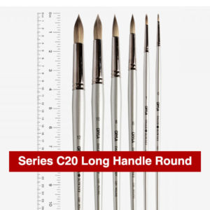 Daler-Rowney-Series-C20-Long-Handle-Round-Brushes