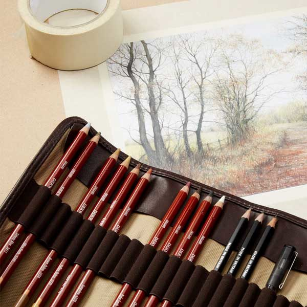Drawing-Single-Pencils-Derwent-Samples