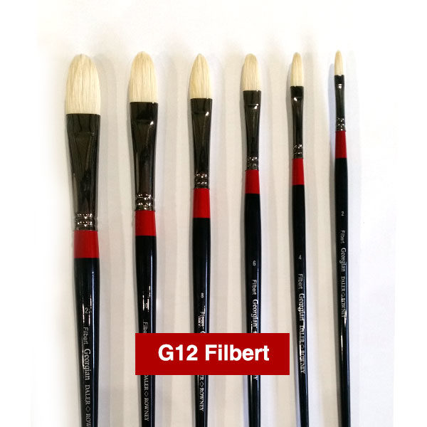G12-Filbert-Georgian-Oil-Brushes-Daler-Rowney