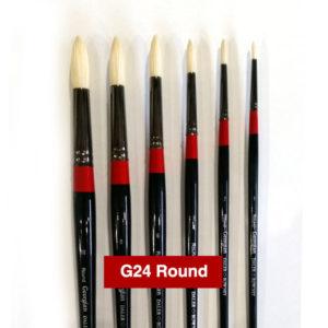 G24-Round-Georgian-Oil-Brushes-Daler-Rowney