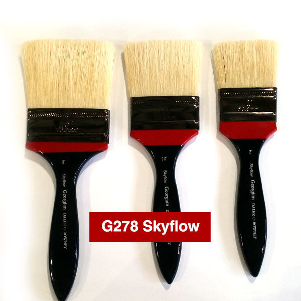 G278-Skyflow-Georgian-Oil-Brushes-Daler-Rowney