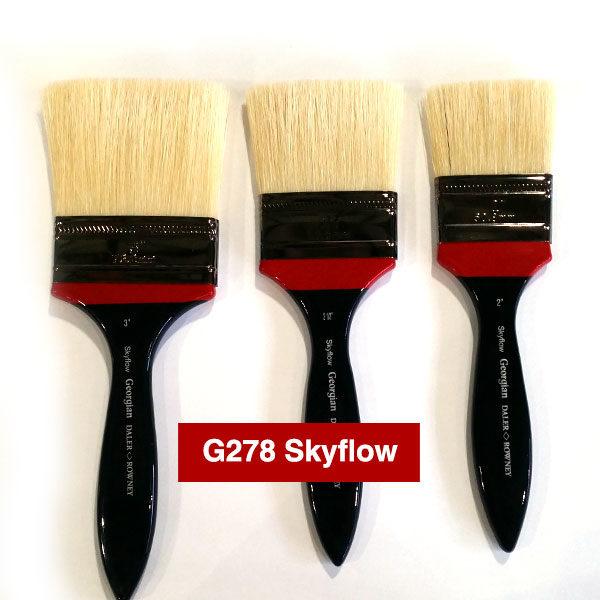 G278-Skyflow-Georgian-Oil-Brushes-Daler-Rowney