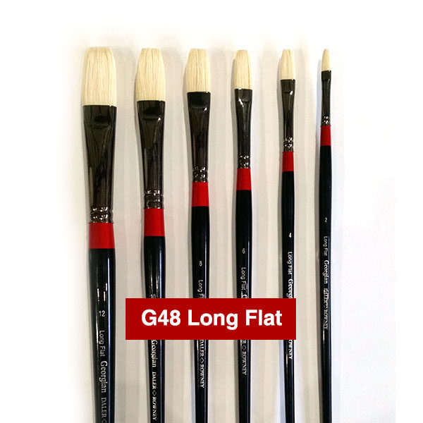 G48-Long-Flat-Georgian-Oil-Brushes-Daler-Rowney