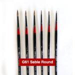 G61-Sable-Round-Georgian-Oil-Brushes-Daler-Rowney