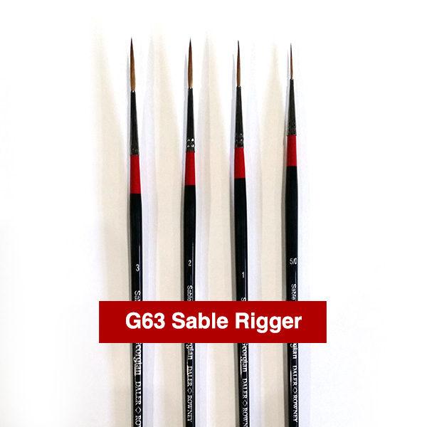 G63-Sable-Rigger-Georgian-Oil-Brushes-Daler-Rowney