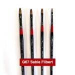 G67-Sable-Filbert-Georgian-Oil-Brushes-Daler-Rowney