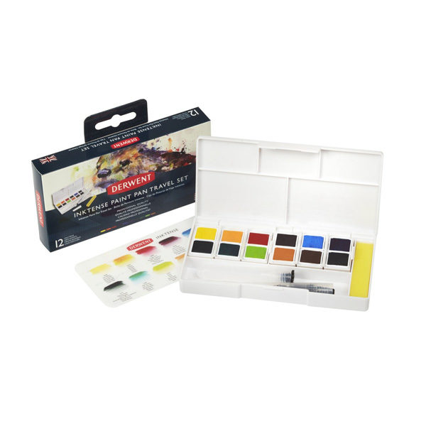 Inktense-Paint-Pan-Travel-Set-Derwent