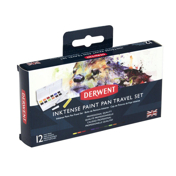 Inktense-Paint-Pan-Travel-Set-Derwent-Box