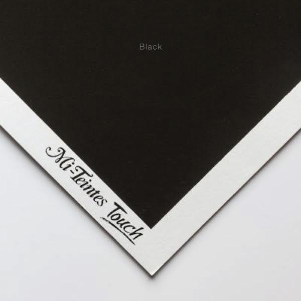 Mi-Teintes Sheets - Black Canson
