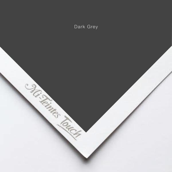 Mi-Teintes Sheets - Dark Grey Canson